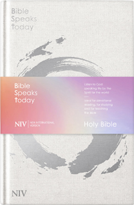NIV Bible Speaks Today: cloth (front cover)