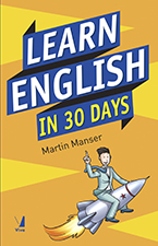 Learn English in 30 days cover